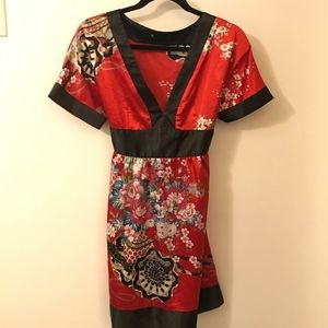 Tops - Adorable Red Flower Design Blouse